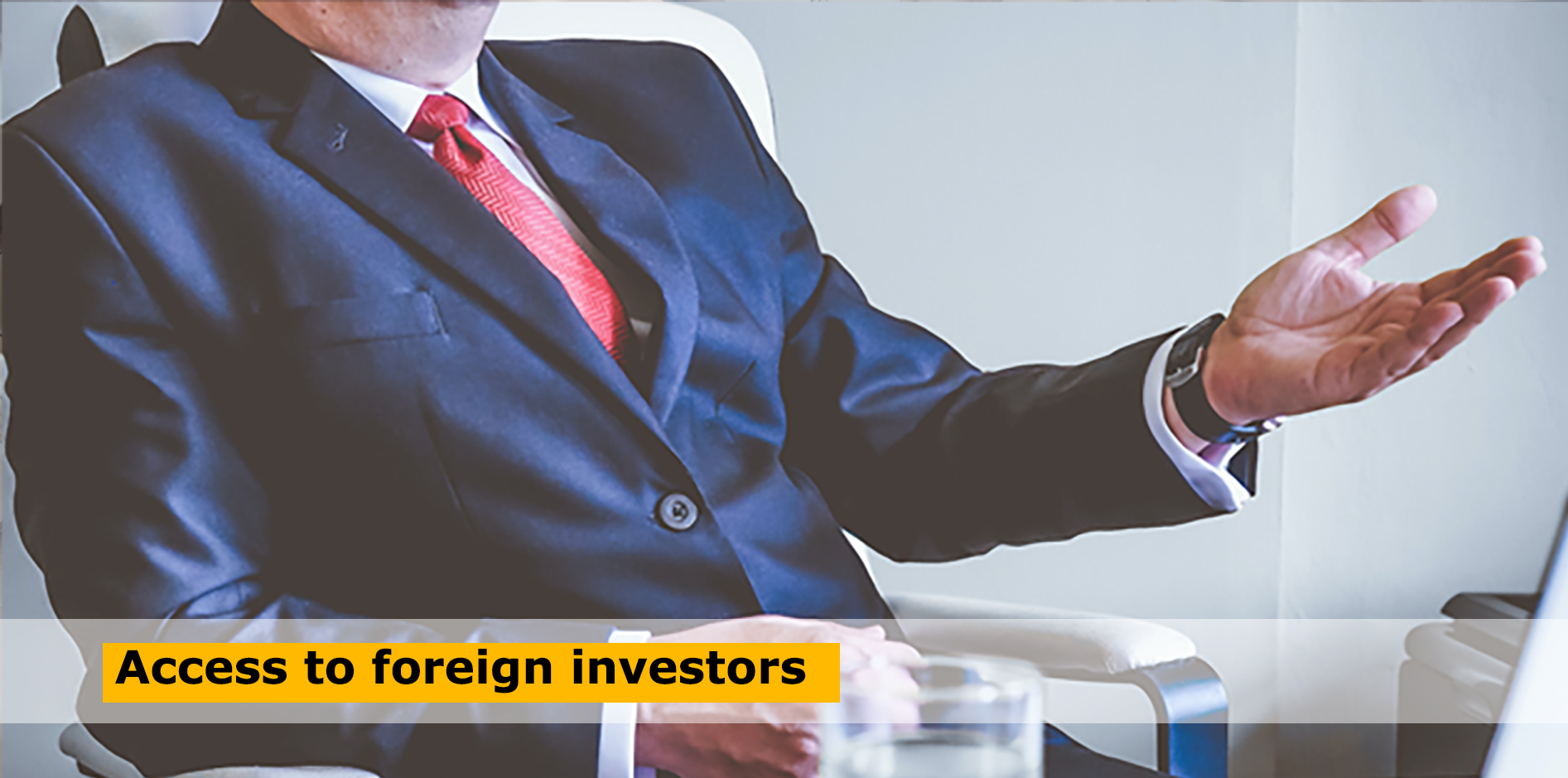 Access to foreign investors