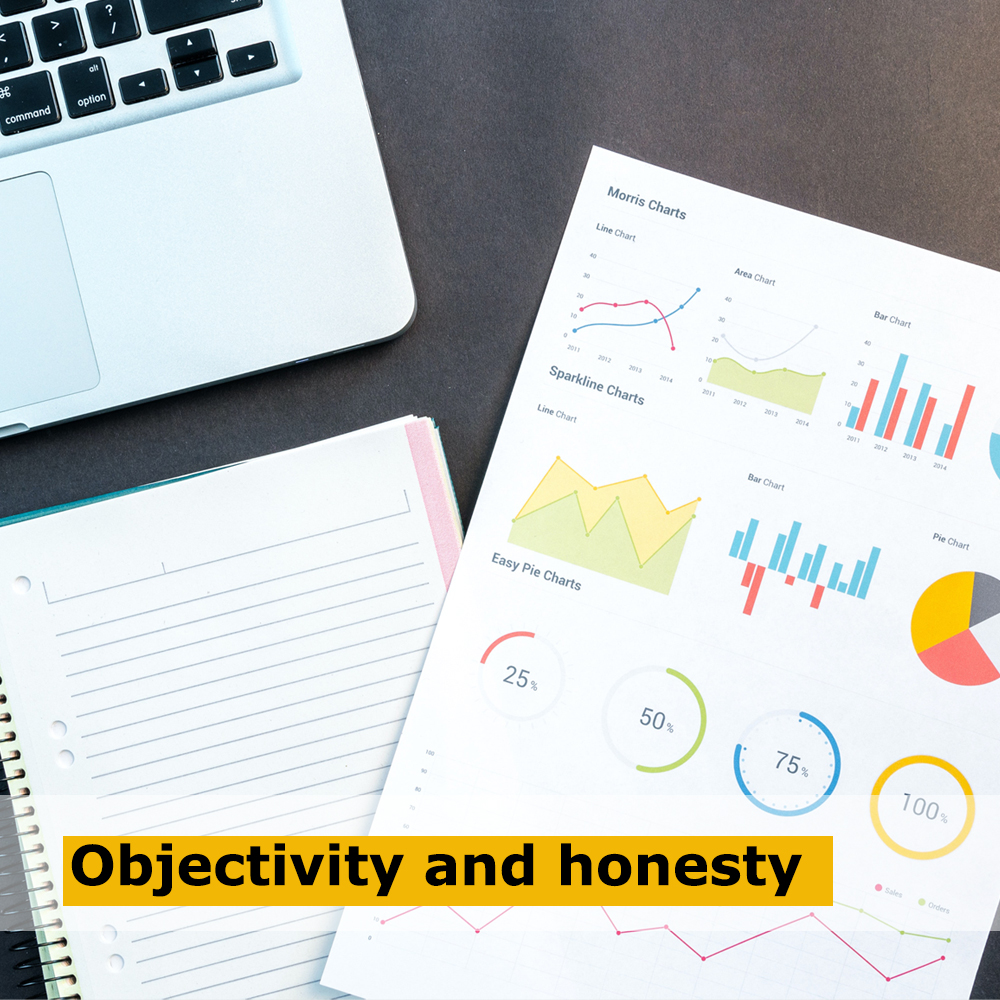 Objectivity and honesty