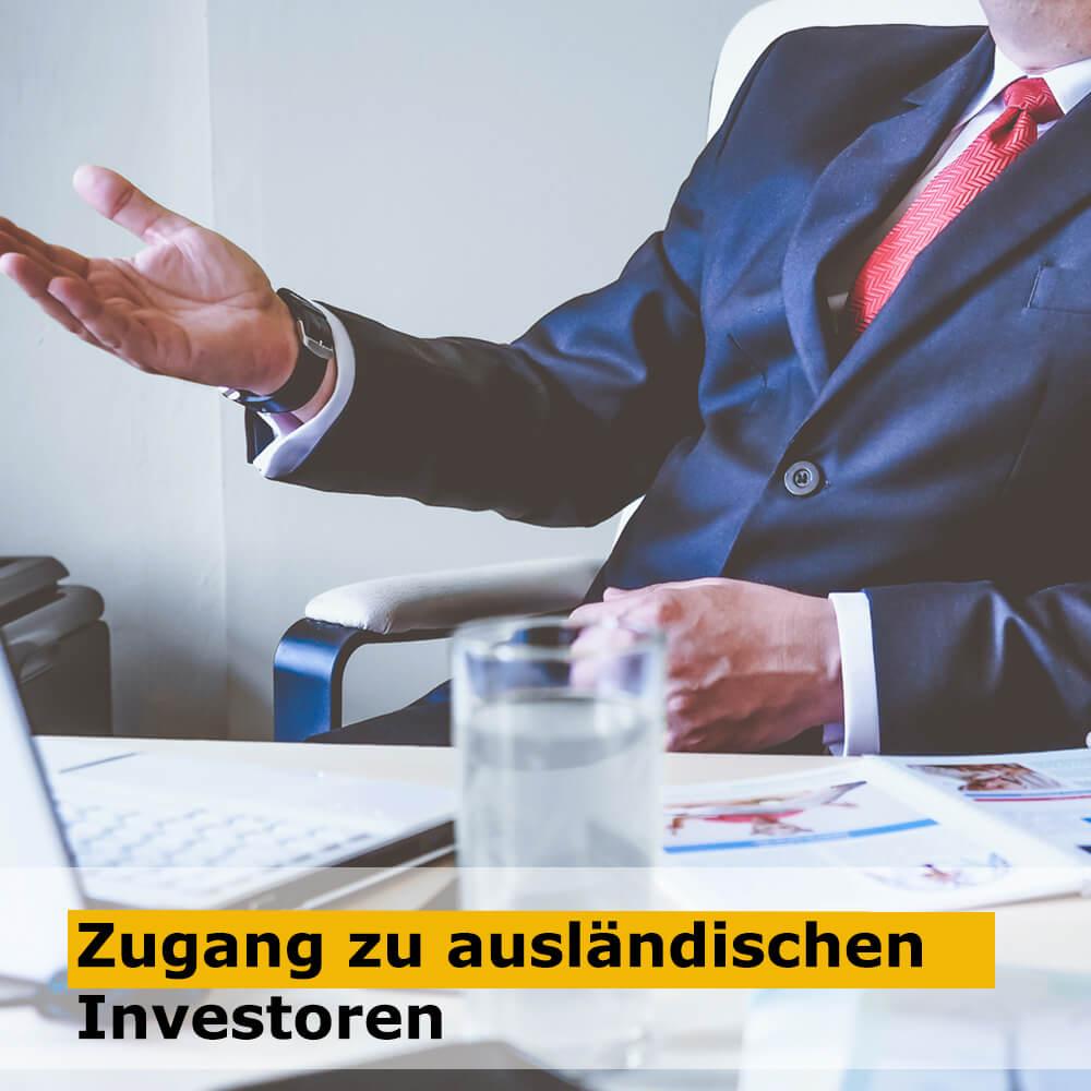 Zugang zu ausländischen Investoren (1)
